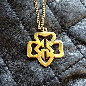Cute Vintage Girl Scout Necklace